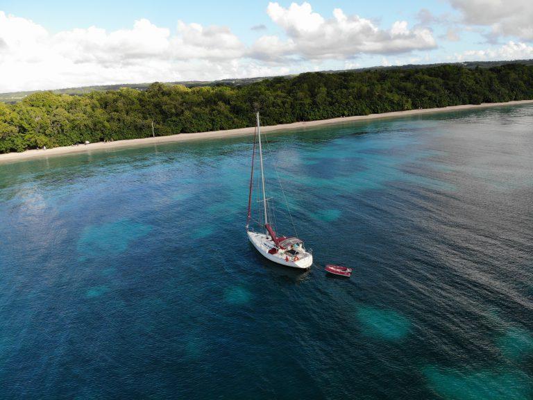 Aliza à Folle Anse à Marie-Galante en Guadeloupe