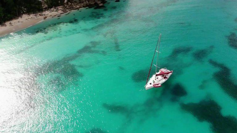 Anse Canot à Marie-Galante en Guadeloupe