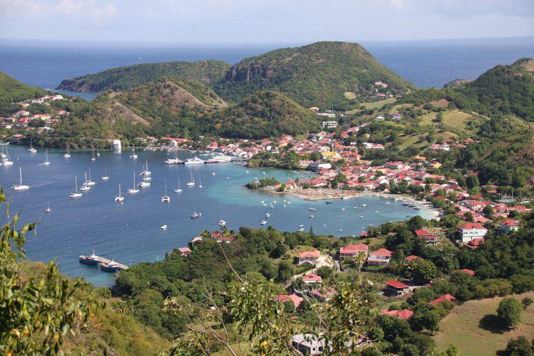 L'archipel des Saintes de Guadeloupe aux Antilles