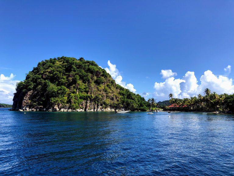Le Pain de Sucre aux Saintes en Guadeloupe