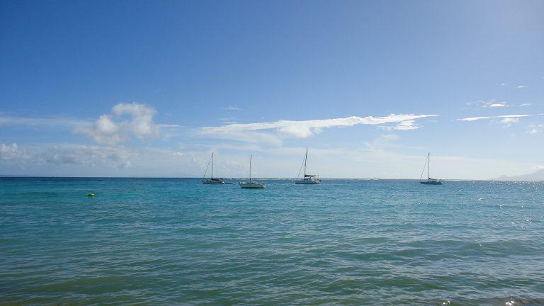 Lagon de Sainte-Anne en Guadeloupe